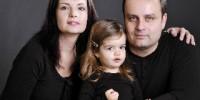 Rodinná portrétní fotografie